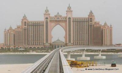 Palm Jumeirah Monorail, Dubai