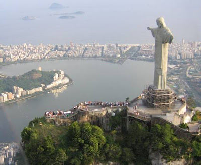 WORLD'S HIGHEST STATUE................BRAZIL CHRIST THE REDEEMER STATUE.....RIO.D.J.........BRAZIL