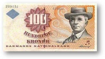 Hundrede Kronbr Danmarks National Bank