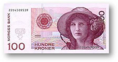 Hundred Kroner Norges Bank
