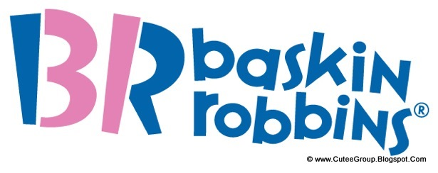 big part of their older logo · Baskin Robbins