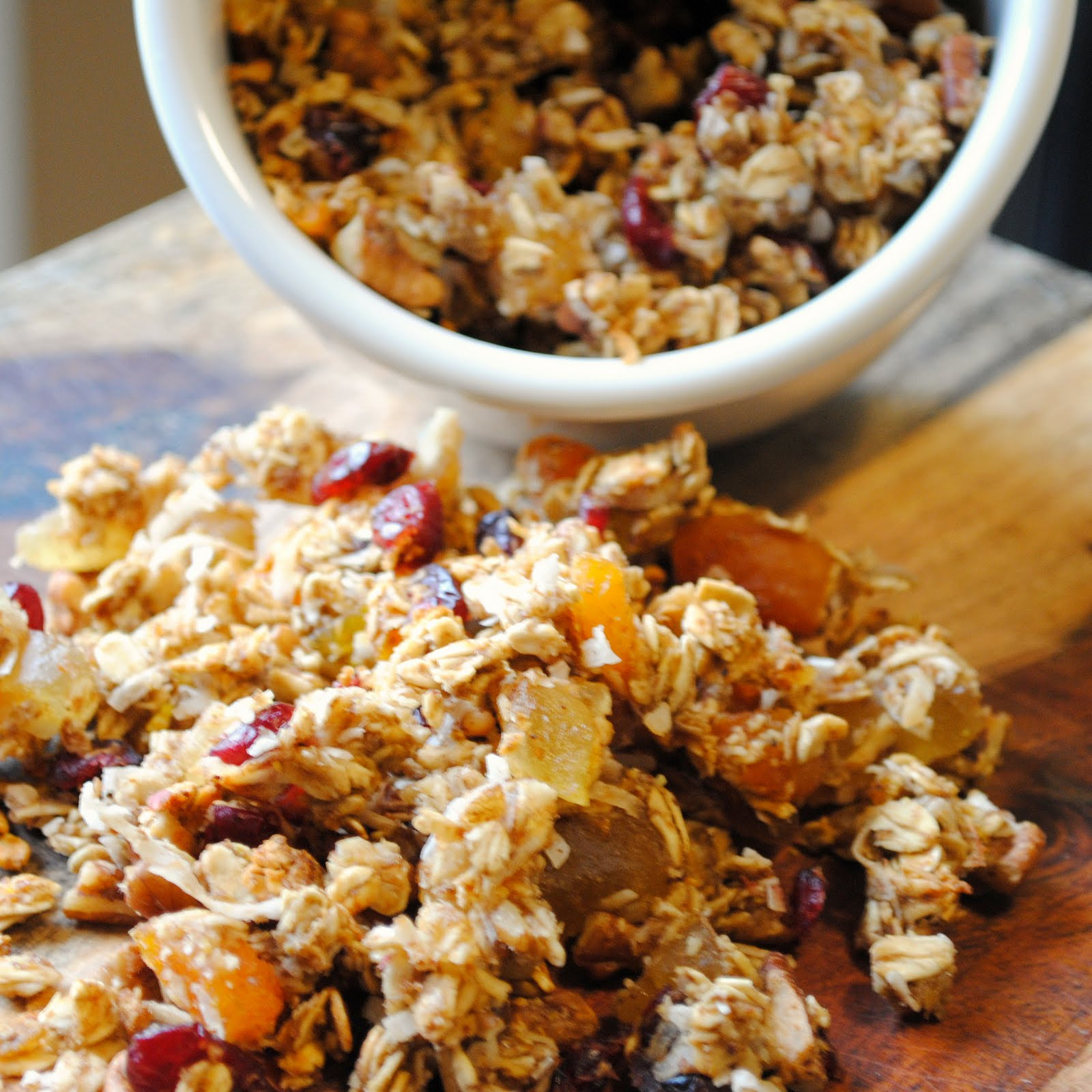 love making homemade granola it takes less than an hour including ...