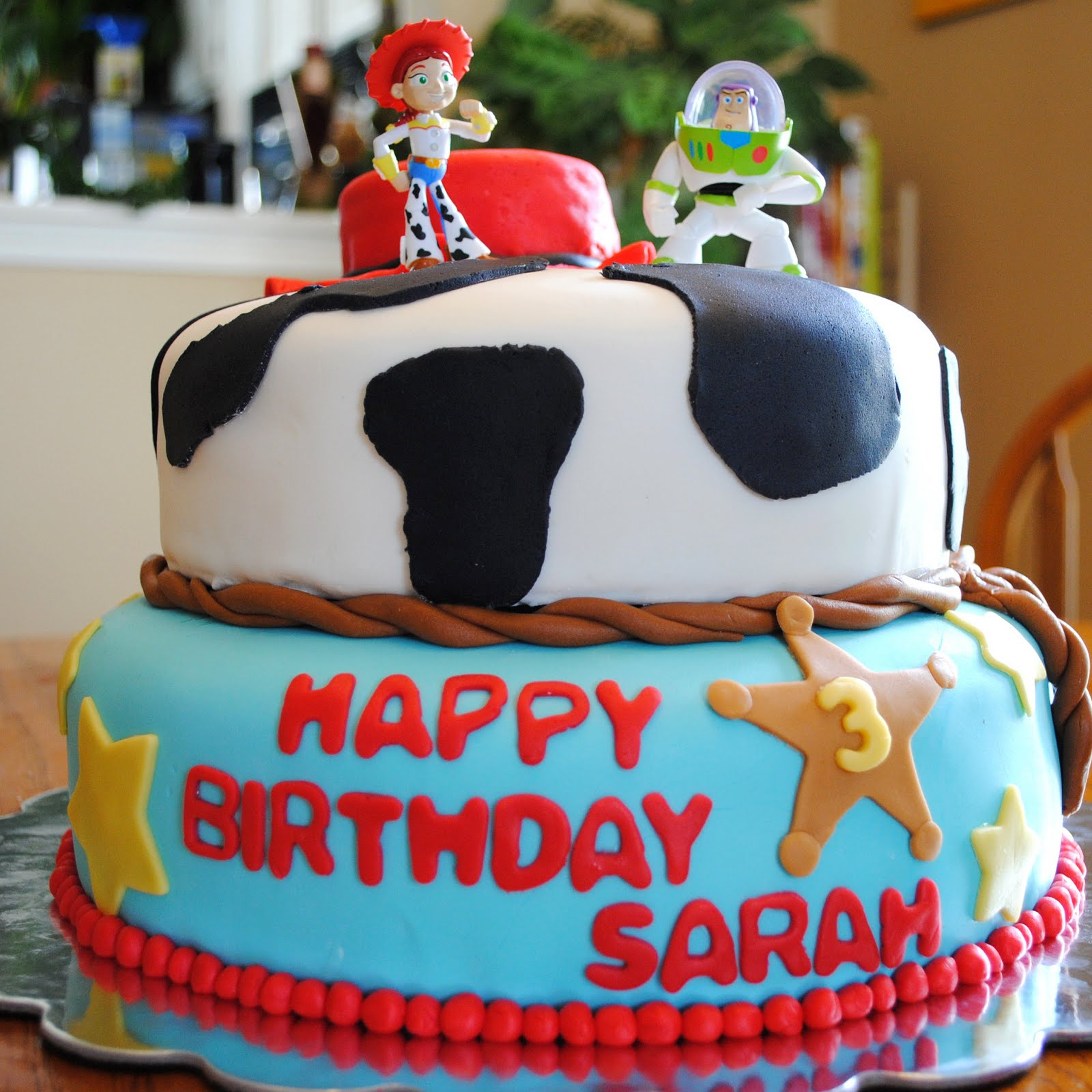 Birthday Cake Toy : Homemade by holman fondant toy story birthday cake