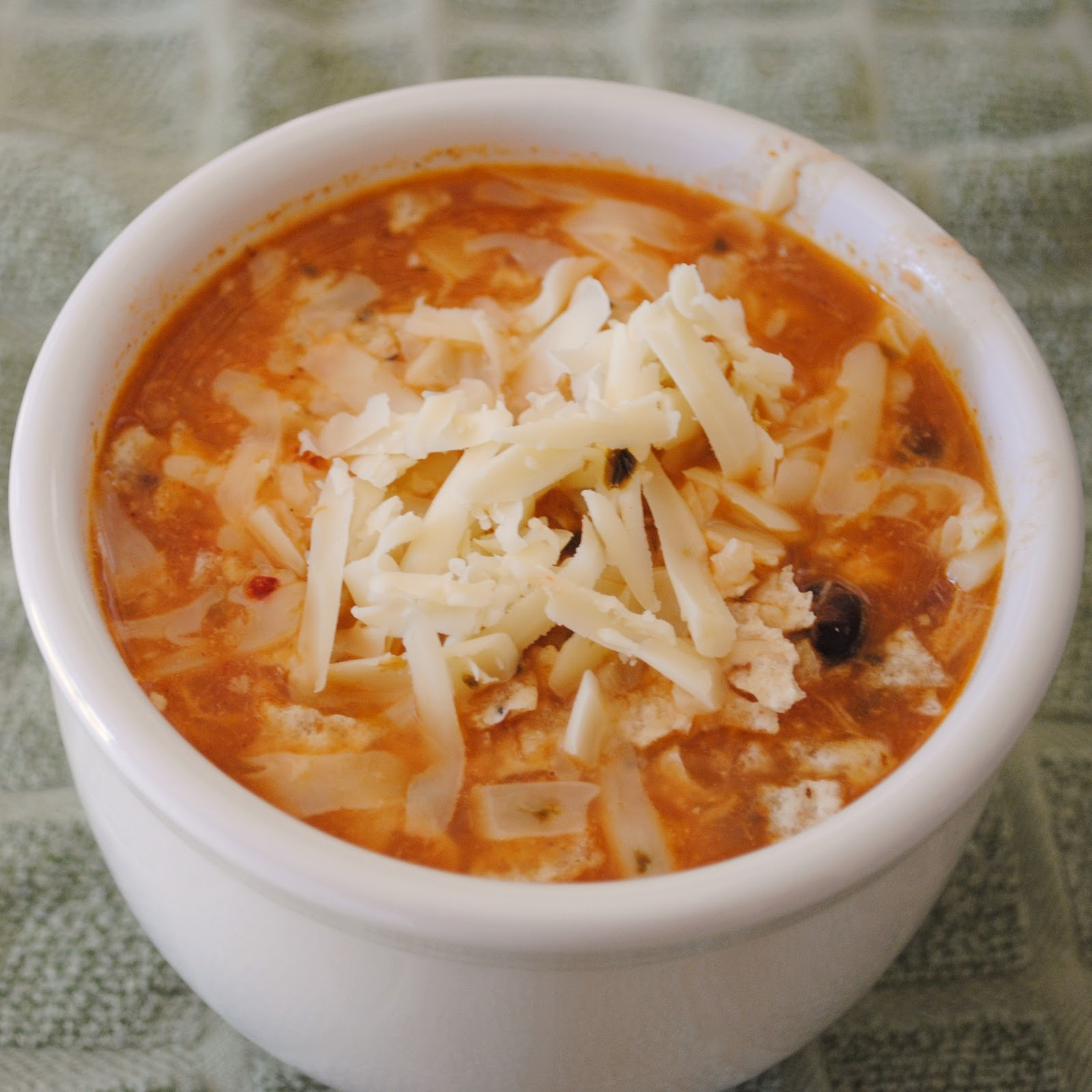 Cheesy Chicken Tortilla Soup Chicken enchilada soup