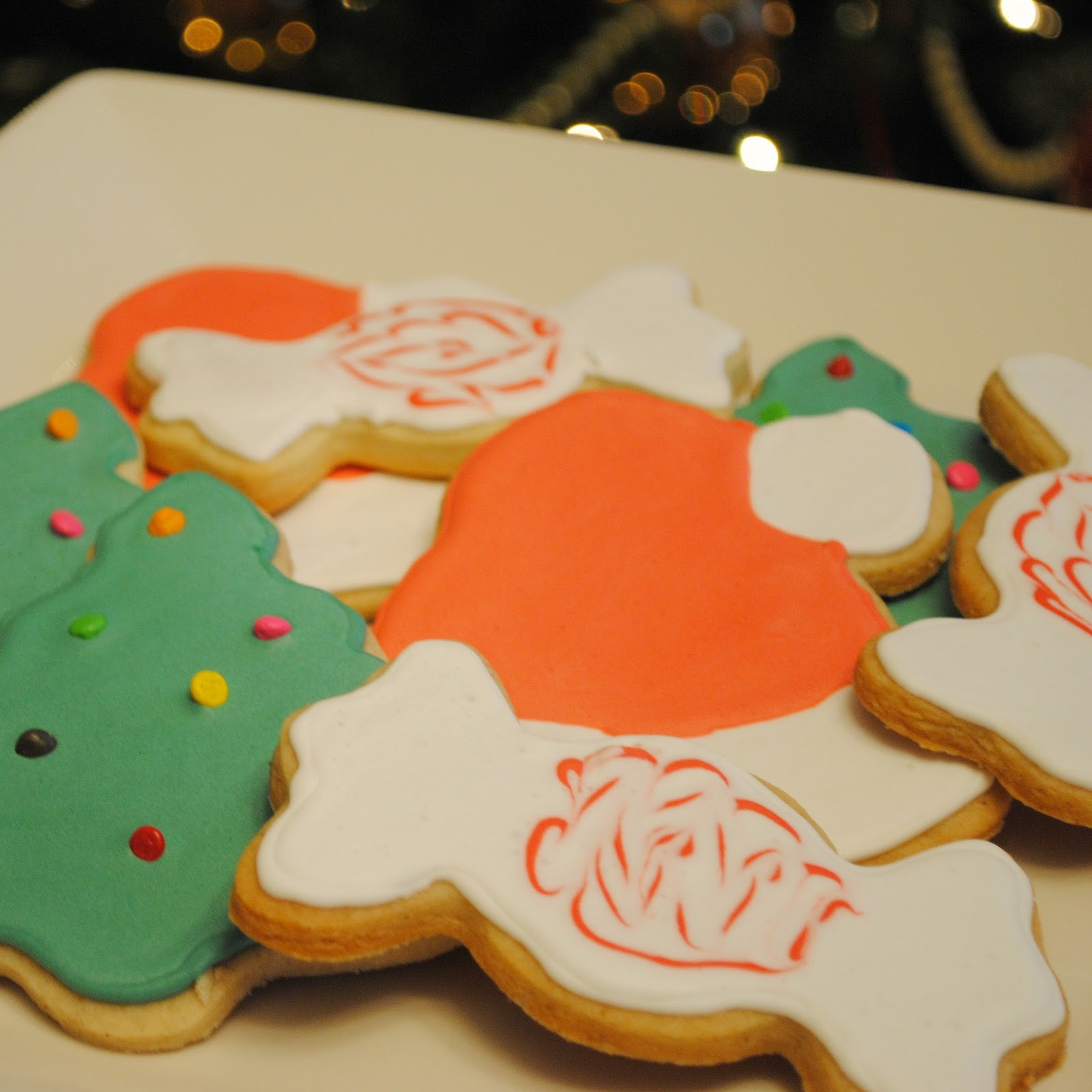 Homemade By Holman: Spiced Brown Sugar Christmas Cookies