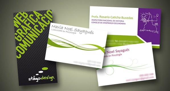 Santiago p rez portfolio identidad tarjetas for Programa para disenar jardines gratis en espanol