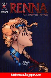 Renna 1, portada de George Pérez