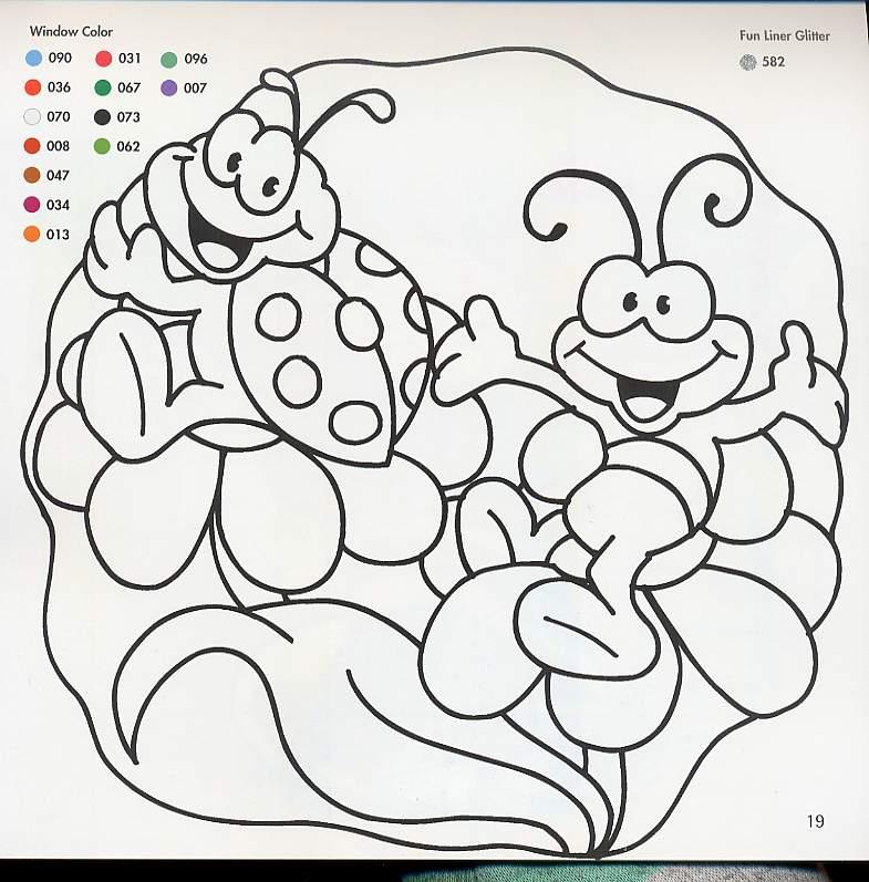 Único Páginas Para Colorear De Vidrio Galería - Dibujos Para ...
