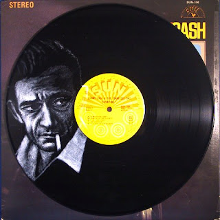 Johnny Cash - (i) inspired by photo by Jan Olofsson
