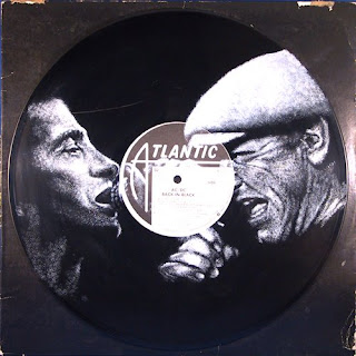 Bon Scott and Brian Johnson of AC/DC