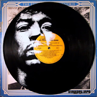 Jimi Hendrix - (i) inspired by photo by Donald Silverstein