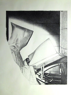 high school rapidograph drawing