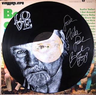 Mike Love of the Beach Boys - autographed by Love for the David Lynch Foundation