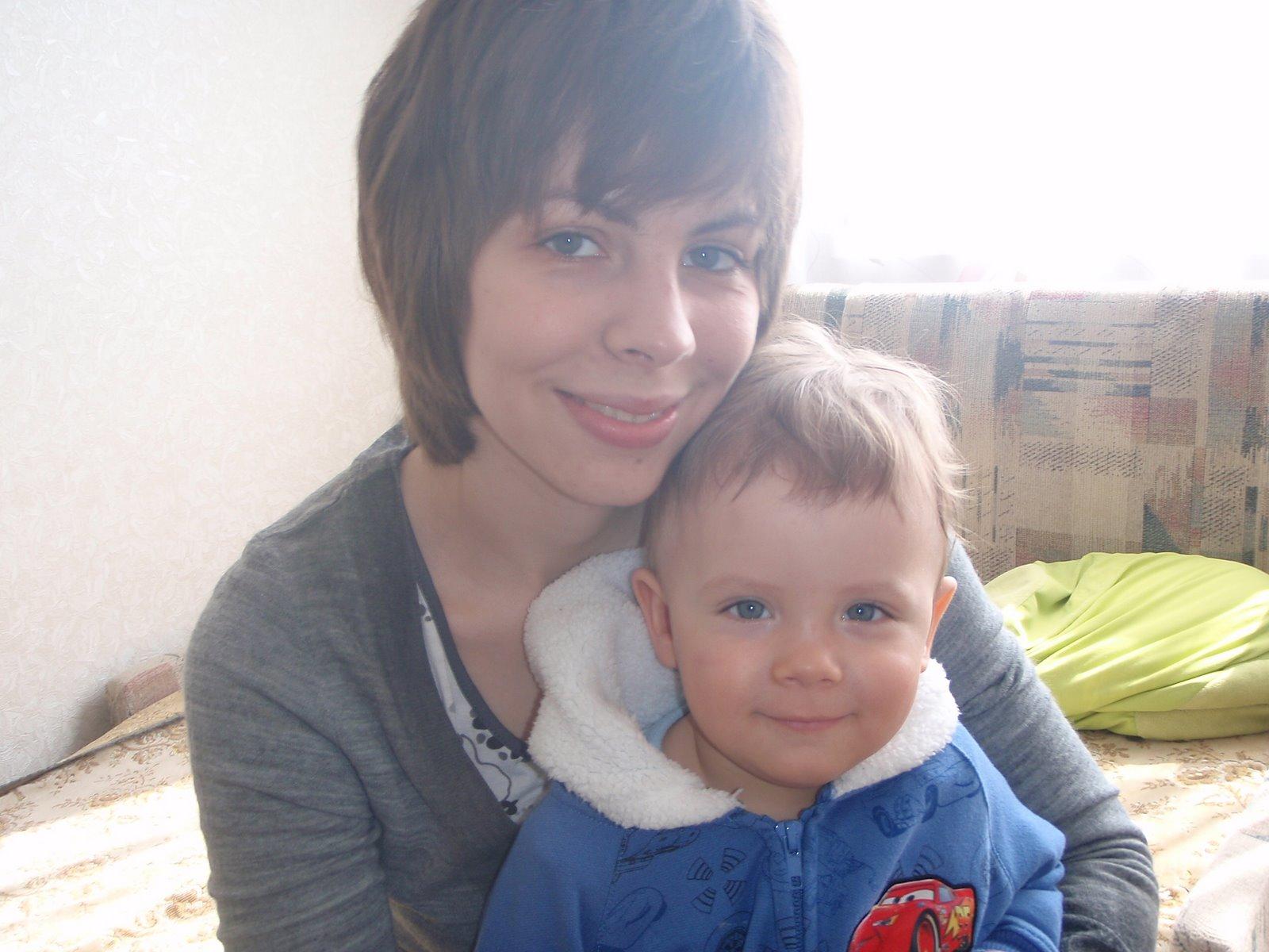 Снято на телефон мама з сыном 18 фотография