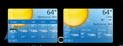 Fuga Weather Gadget For Windows 7 MSN Weather 2 0