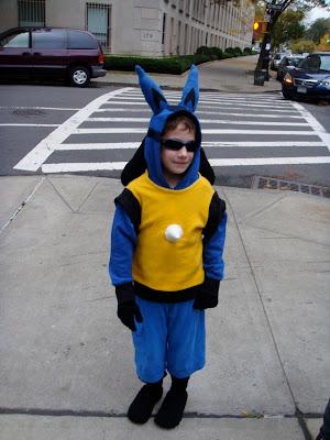 ethan is the pokemon lucario halloween