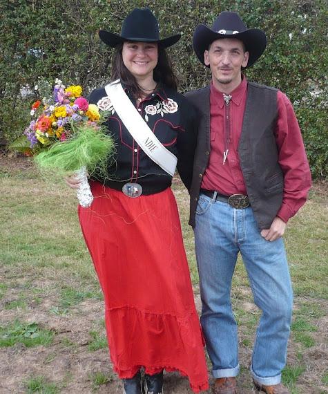 Le jour où Miss Clémentine a été élue Miss DAM country Normandie
