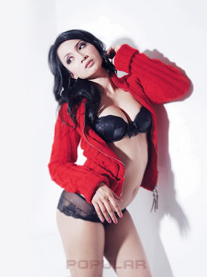 Foto Hot Ika Putri di Majalah Popular (Foto Sexy)