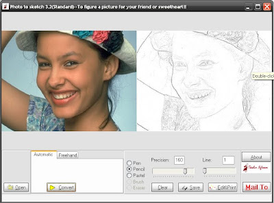 Software pembuat sketsa foto