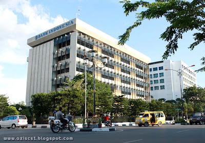Gedung Bank Indonesia  Banjarmasin dulu dan Sekarang