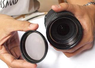 Cara Mudah membongkar Sendiri  Lensa Kamera DSLR