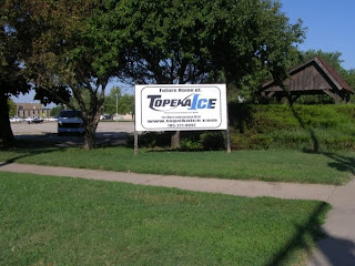 Topeka Ice Sign