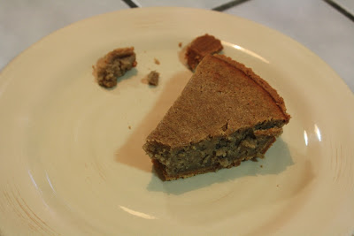 slice of bean pie