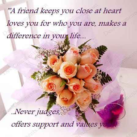 quotes on friendship and trust. quot;The glory of friendship is