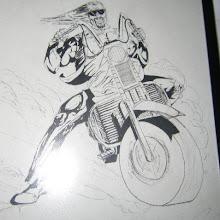 """The biker"""