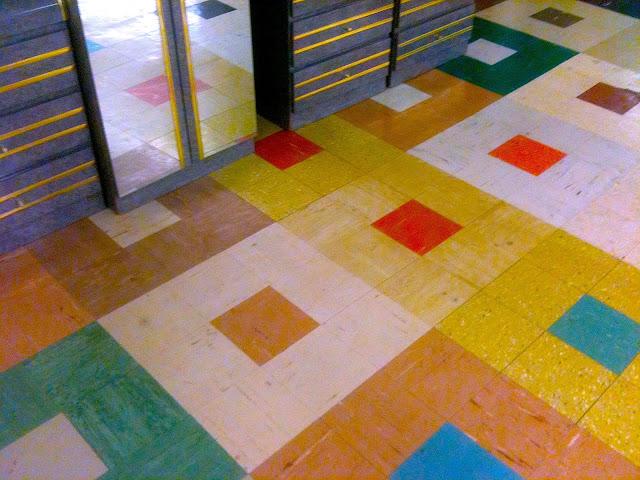 Art skool damage christian montone aisles of tiles for 1960s floor tiles