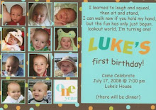 Emily does such a cute job with invitations!