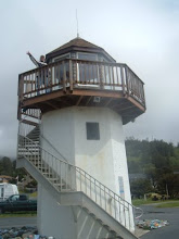 Lighthouse behind our Condo in Oregon