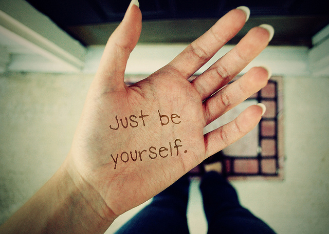 just be yourself essay Narrow your topic your topic may be given to you by your instructor, or you may get to choose it yourself either way, you need to have a topic in mind before you get started working on your essay.