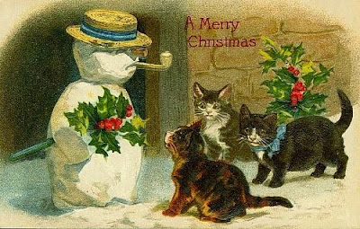 Image Result For Christmas Cats Large