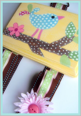 how to make a ribbon bow holder