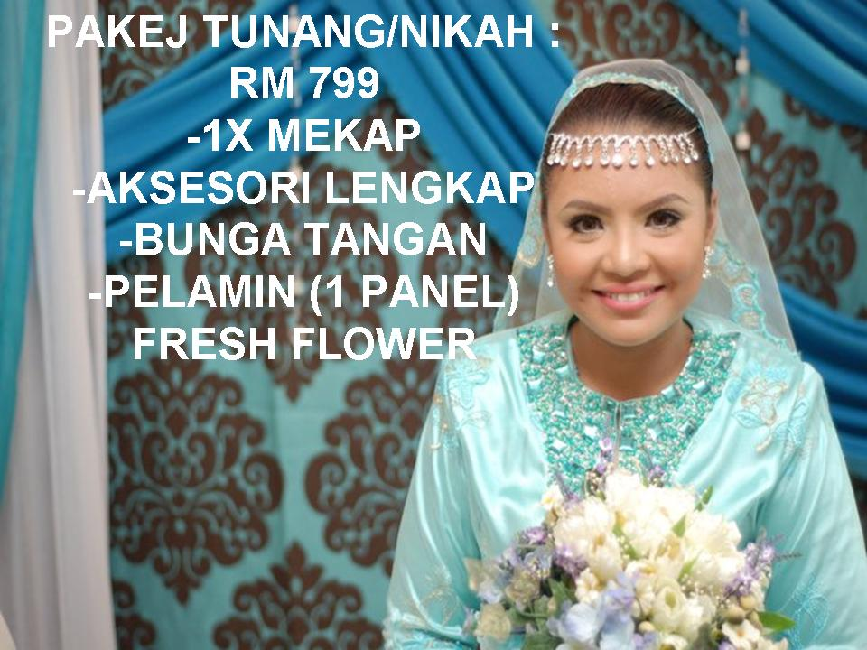 PAKEJ TUNANG/NIKAH RM799