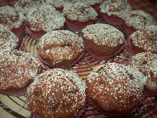 muffins trionfo  di cioccolato!!!!!!