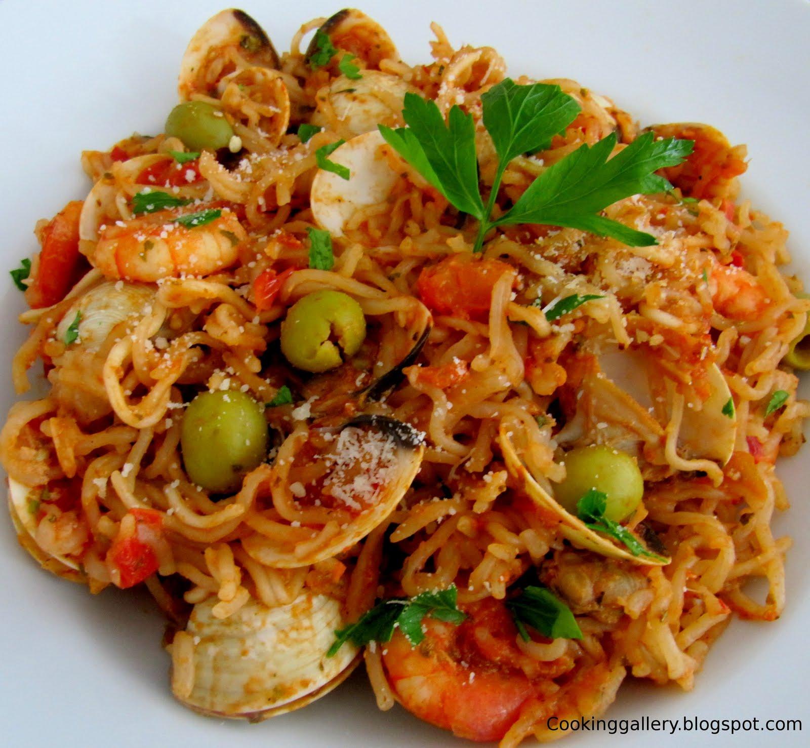 Spaghetti Frutti di Mare | Cooking Gallery