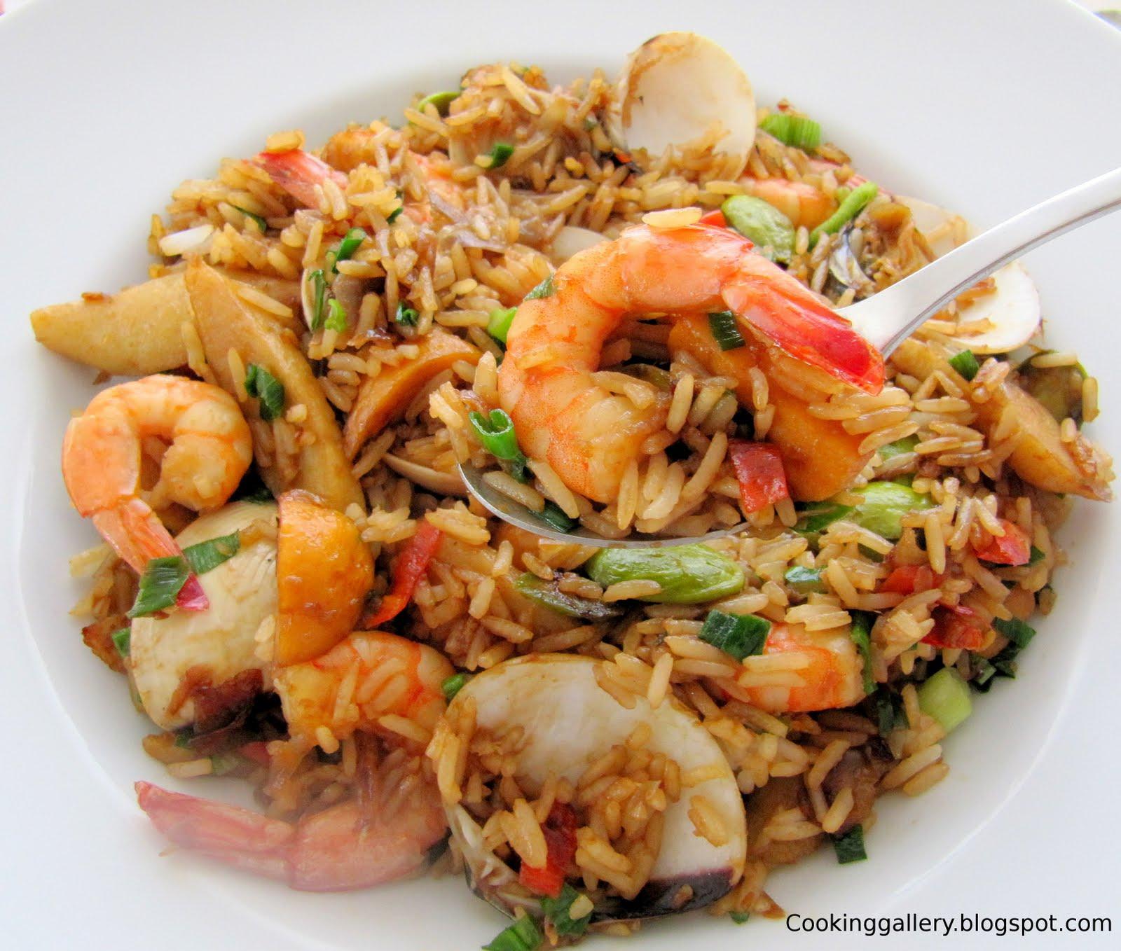 how to prepare nasi goreng