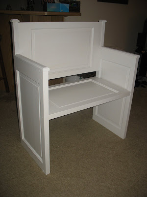 Door Furniture Small White Bench And Rustic White Hall Tree With Drawer