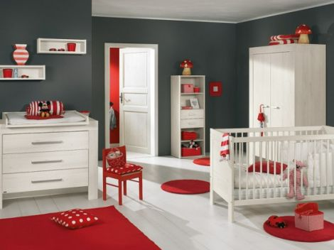 Baby Nursery Furniture on Nice Baby Nursery Furniture Design Ideas Red2