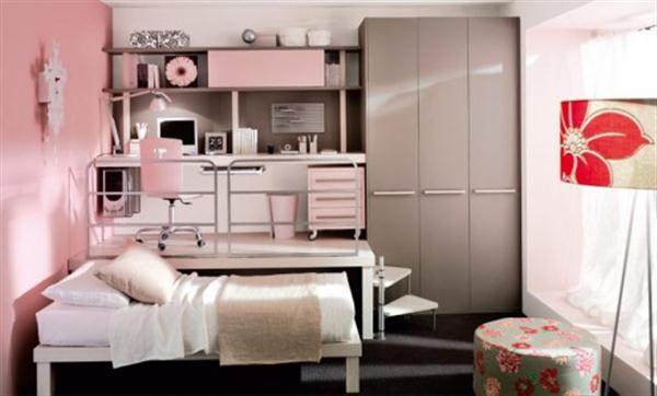 Teen Girl Small Bedroom Design Ideas 600 x 362