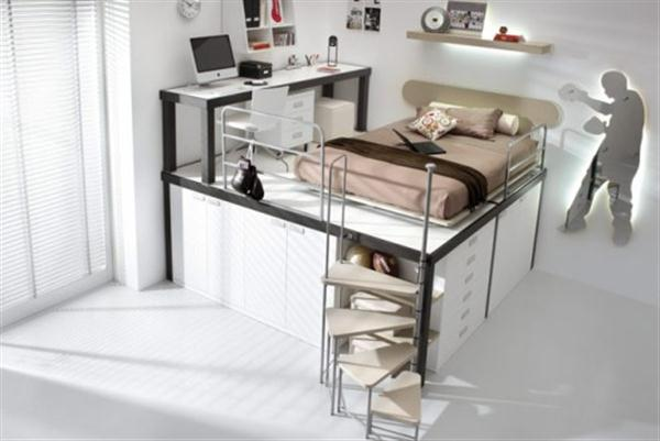 Cool Bunk Beds Home Design Inside