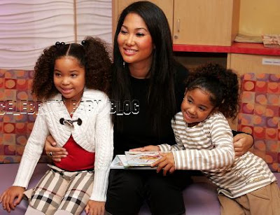 Aoki Lee Simmons. and 6-year-old Aoki Lee,