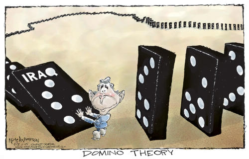 Israel Matzav: The Domino theory comes to the Middle East