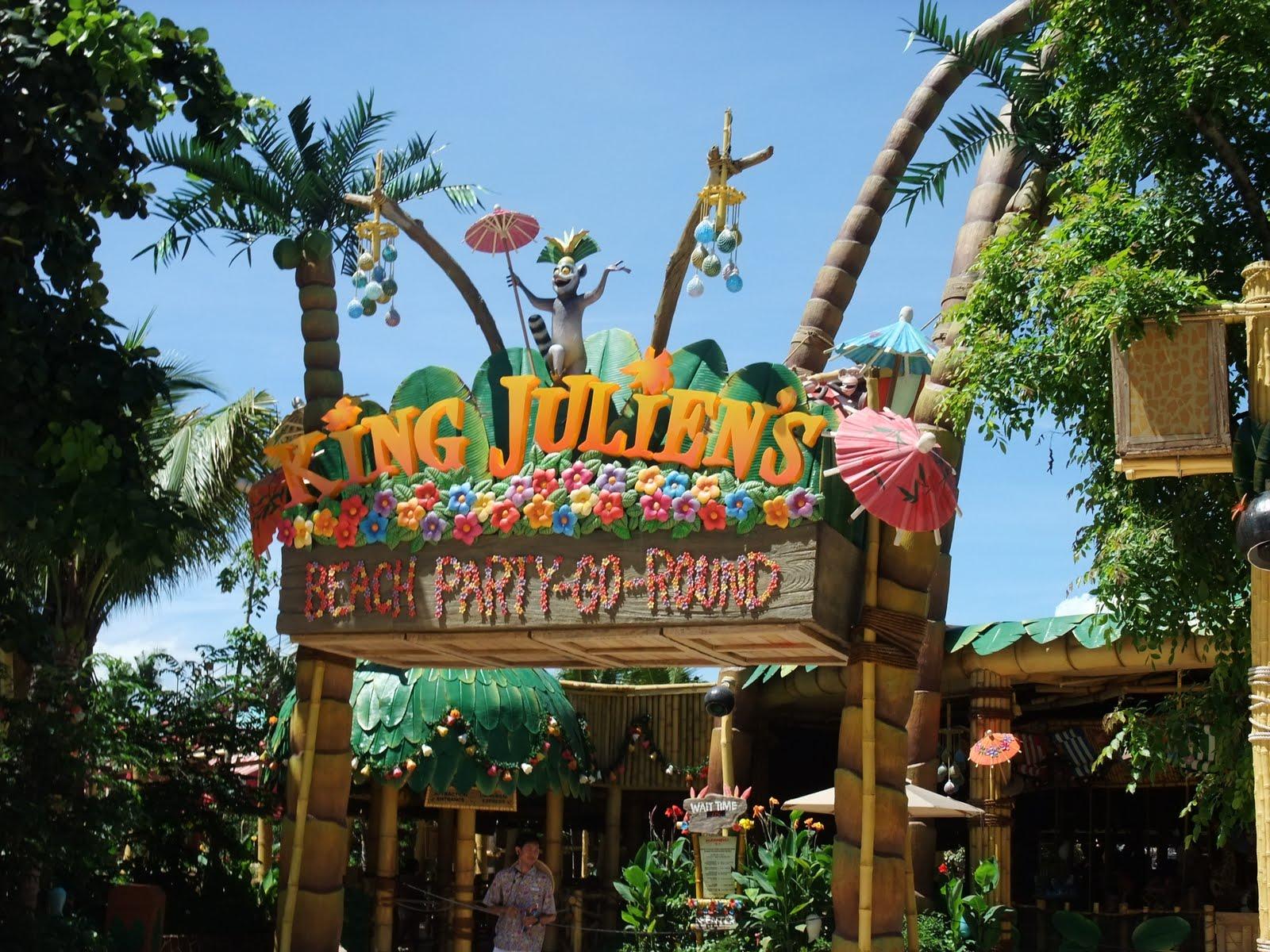 Universal Studios Singapore: Madagascar