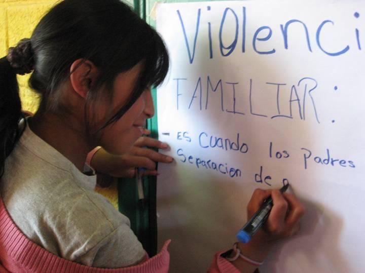 Aprendiendo sobre la Violencia Intrafamiliar