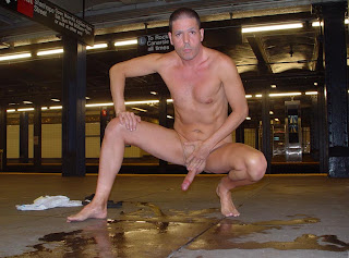 Dudes Displayed Stiffy Naked On The Metro