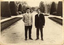 Dos nazarenos en Madrid 1966.