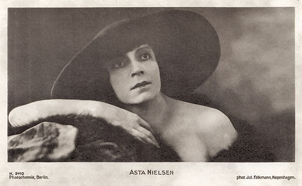 Asta Nielsen was a Danish silent film actress who was one of the most